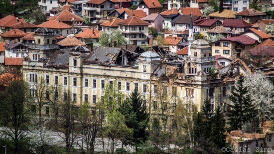 Izgrađena 1914. godine postaje 'Jajce kasarna' godinu dana poslije (Sarajevo, foto: Carias Zimm)