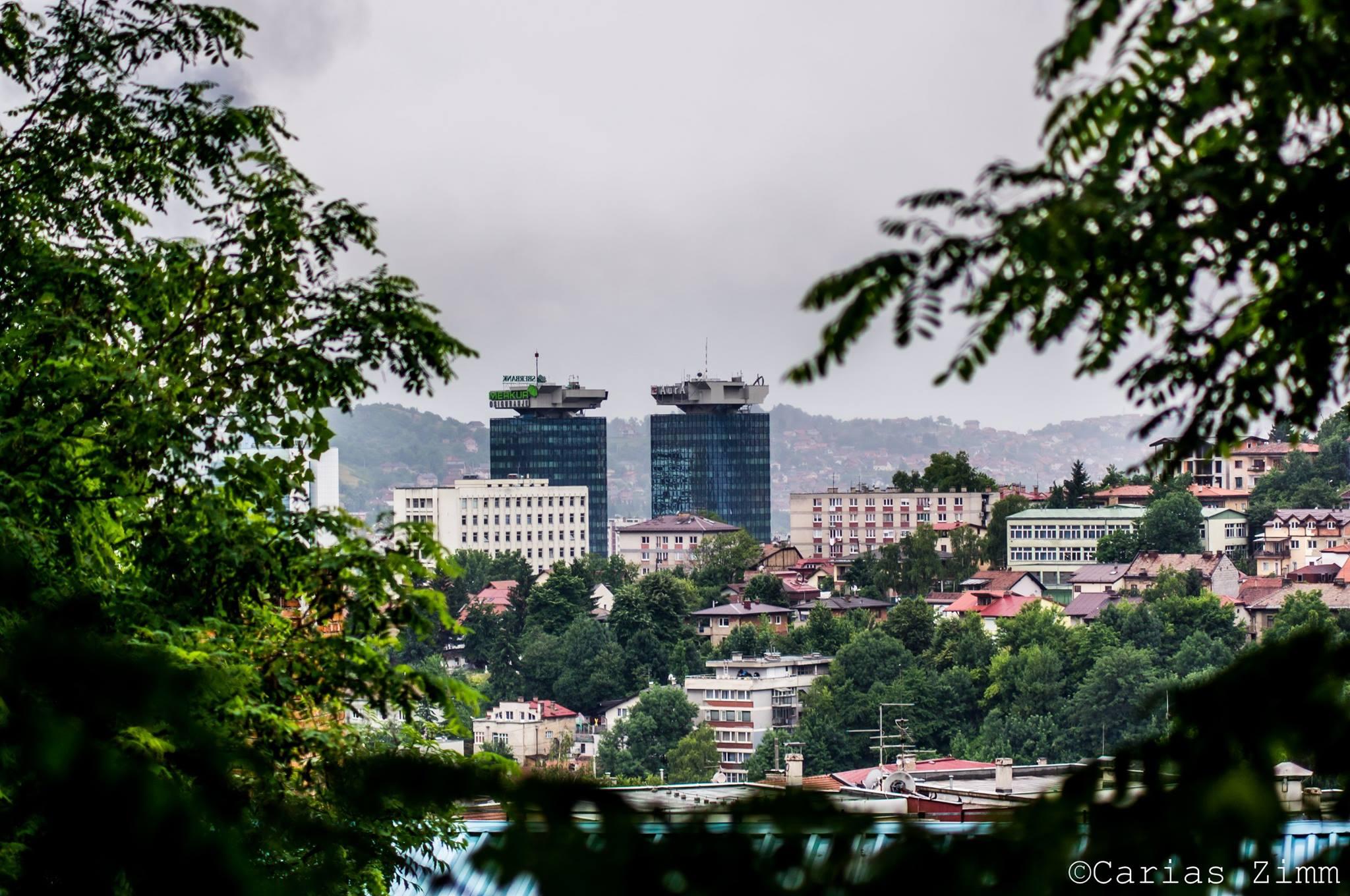 Grad među krošnjama (Sarajevo, foto: Carias Zimm)