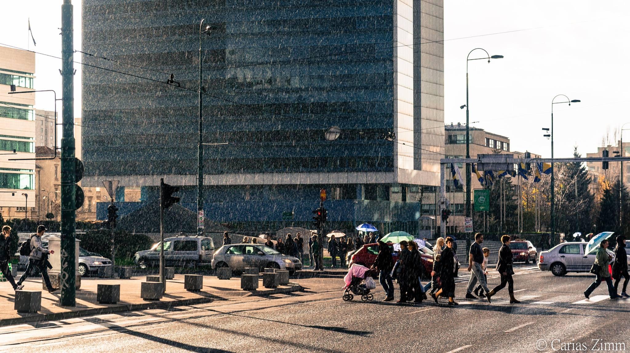 Kiša kupa Marindvor (Sarajevo, foto: Carias Zimm)