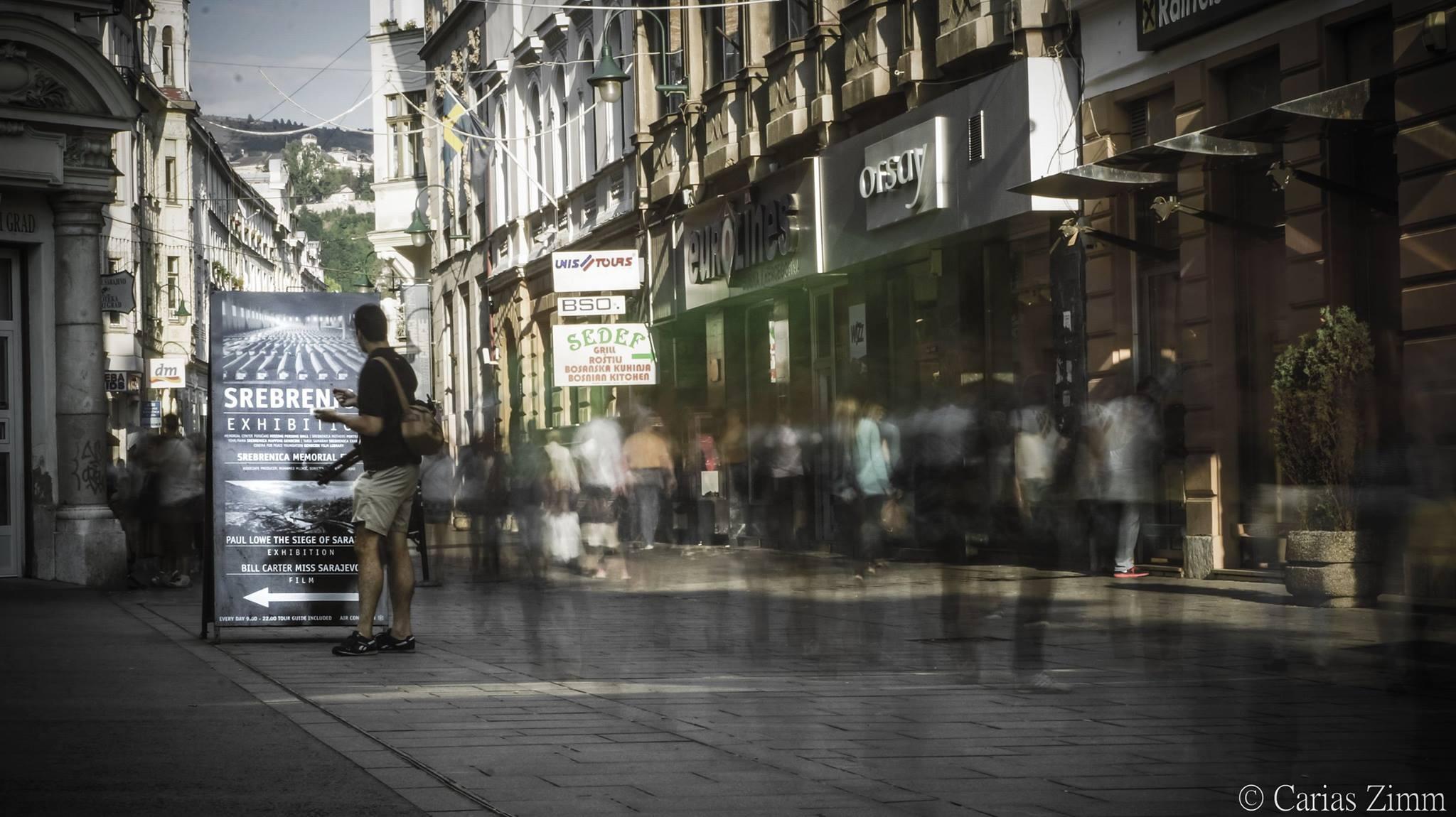 Vrijeme teče Ferhadijom (Sarajevo, foto: Carias Zimm)