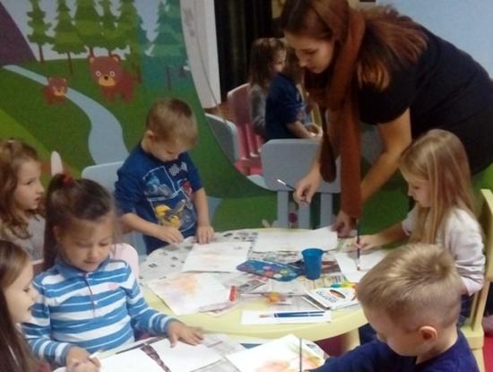 Radionica Mala škola slikarstva, Sveznalice