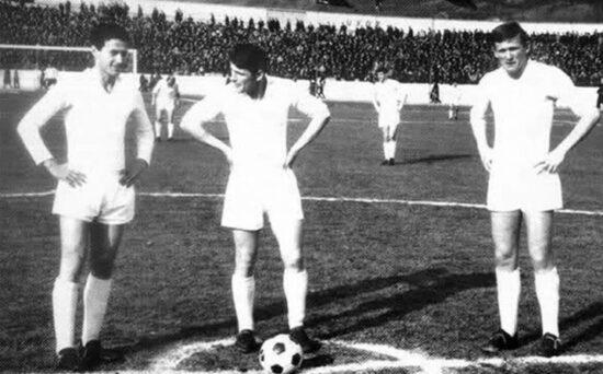 Hase sa Mišom Smajlovićem (lijevo) i Ivicom Osimom (desno)