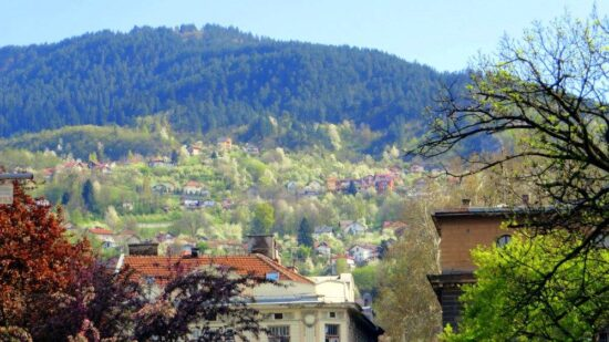 April u najljepšem glavnom gradu na svijetu (Sarajevo, 12. april 2017, foto: Mina Coric)