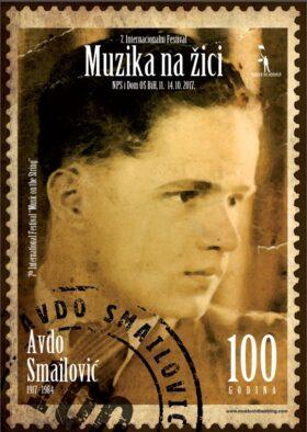Plakat za sedmo izdanje festivala Muzika na žici (Anur Hadžiomerspahić)