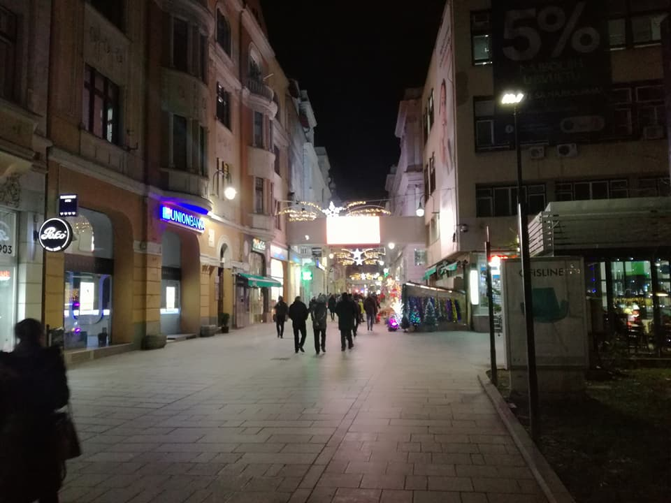 Nadomak Ekonomskog fakulteta (Sarajevo, 20. 12.2017, foto: Naser Husic)