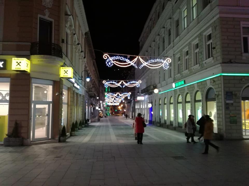 Pogled na Štrosmajerovu (Sarajevo, 20. 12.2017, foto: Naser Husic)