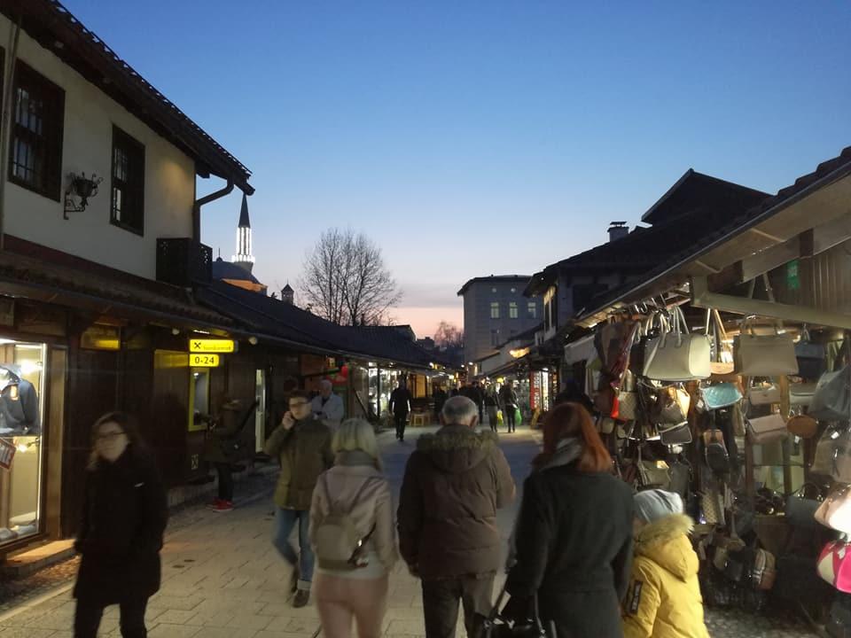 Ulica Sarači (Sarajevo, 28. mart 2018, foto: Naser Husic)