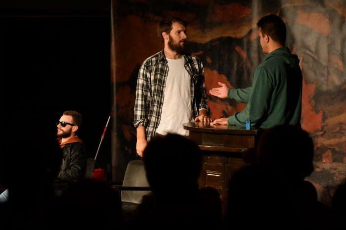 Scena iz predstave ITAKE