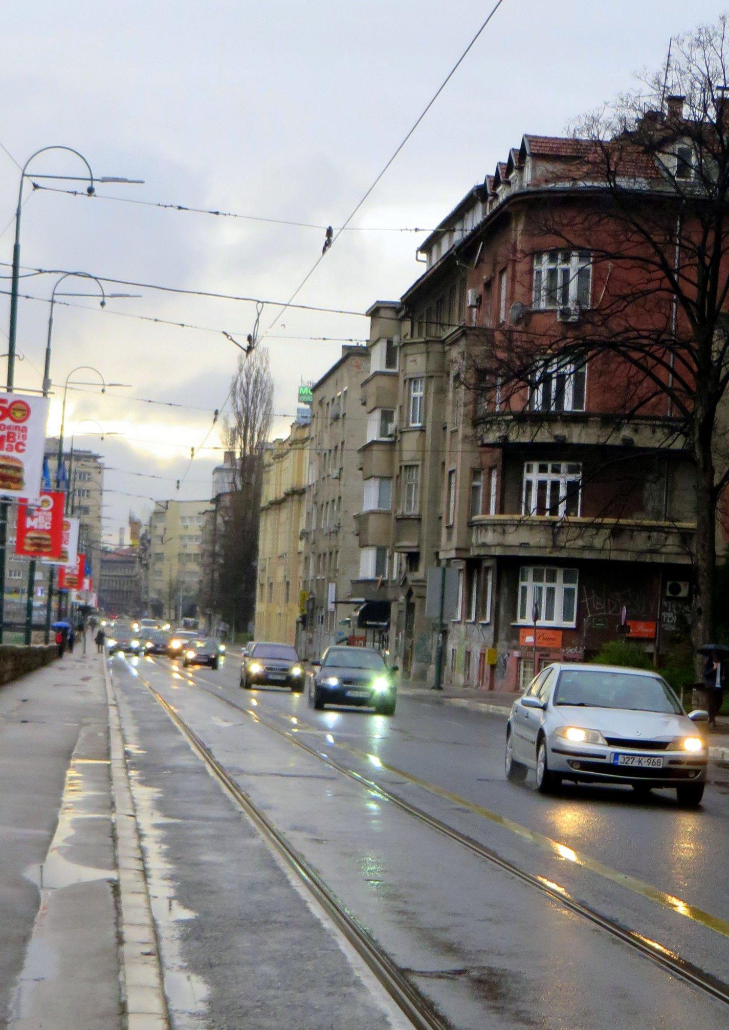 Obala Kulina bana (Sarajevo, 5. april 2018)