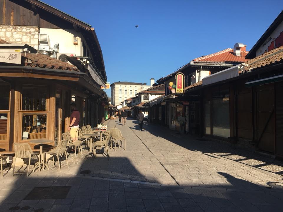 Ulaz u Sarače (Sarajevo, 21. april 2018, foto: Alma Sarajlić)
