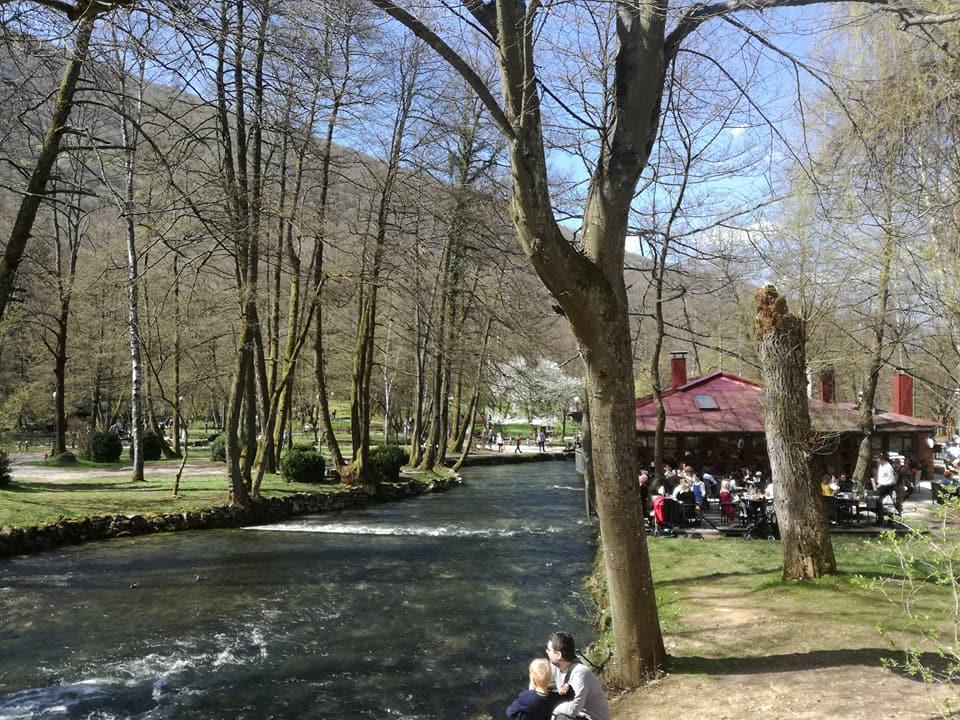Vrelo Bosne (Ilidža, Sarajevo, 8. april 2018, foto: Naser Husić)