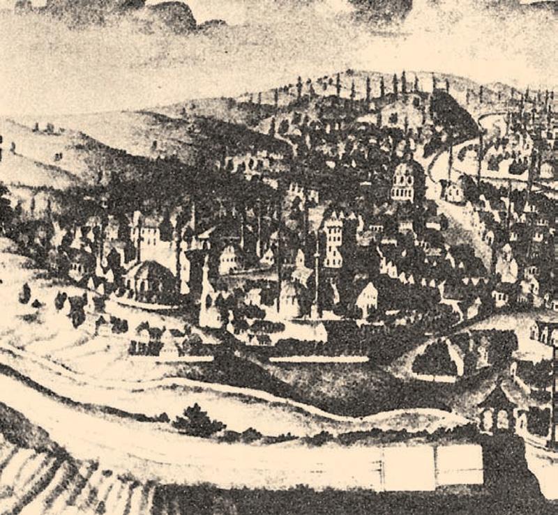 Feudalno Sarajevo osmanlijske epohe (gravura)