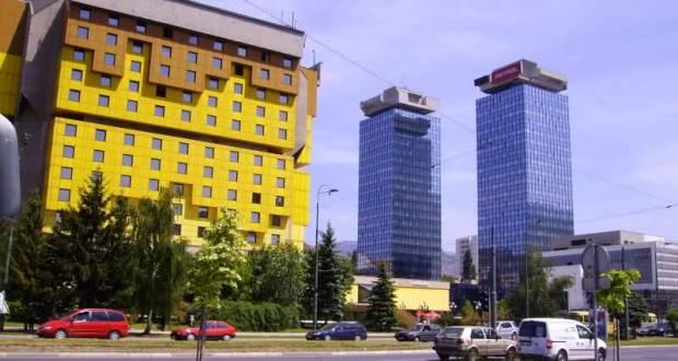 Poslovni centar UNITIC, Sarajevo (Ivan Štraus, (1986)