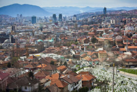 Sarajevo podno Trebevića