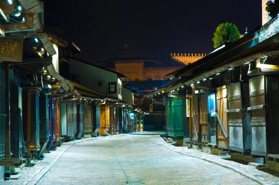 Sarači, najpoznatija trgovačka ulica u Sarajevu